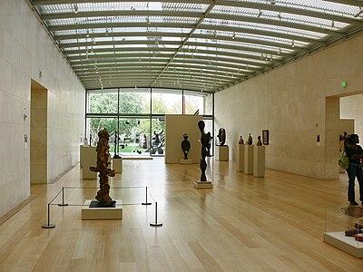 Nasher Sculpture Center Dallas interior