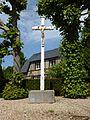Nassandres (Eure, Fr) croix de chemin hameau de Bigards.JPG