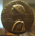 National gallery in washington d.c., pisanello, medaglia di novello malatesta recto.JPG