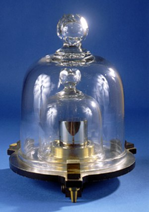 Platinum group - Replica of the NIST national prototype kilogram standard, made in 90% platinum - 10% iridium alloy