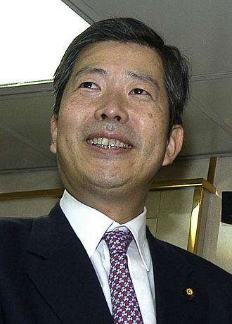 2010 Japanese House of Councillors election - Image: Natsuo Yamaguchi 1