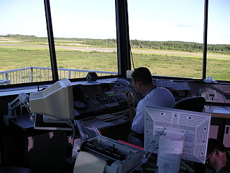 Thompson Airport - Image: Nav Canada FSS in Thompson