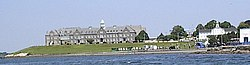 Naval Architecture on The Naval War College  The Original Newport Asylum Building Can Be