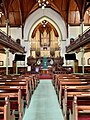 Nave, altar and organs of the Albert Street Uniting Church, Brisbane, Queensland 02.jpg