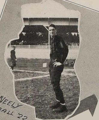 Jess Neely - Neely in 1922