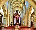 Nef de l'église de Pesmes.jpg