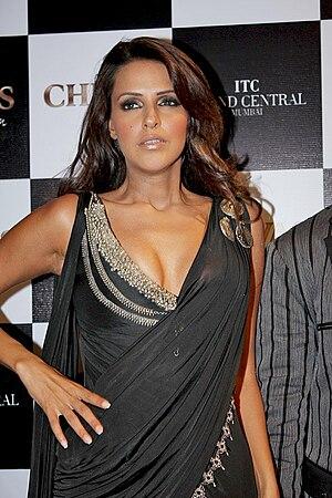 Indian actress Neha Dhupia at the Chivas Fashi...