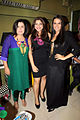 Neha Dhupia and Farah Khan at the opening of Fluke store 05.jpg