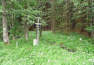 Extreme points of the Czech Republic - Image: Nejjižnější bod Česka