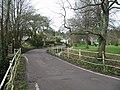 Netherbury village at bridge over River Brit - geograph.org.uk - 94123.jpg