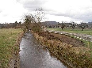 Riehen - Canal near Riehen