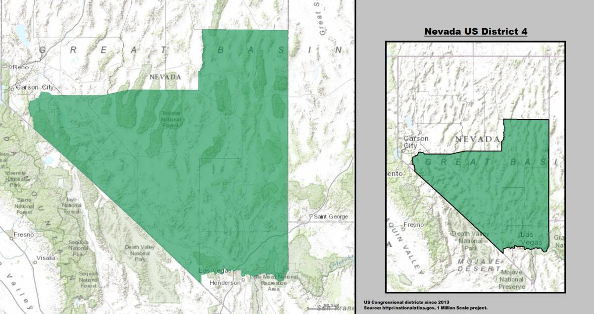 Nevada S 4th Congressional District Wikipedia