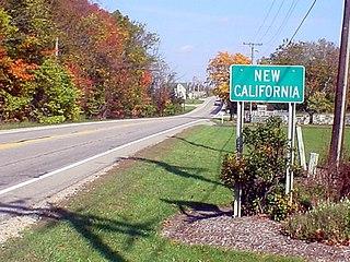 New California, Ohio census-designated place in Ohio, United States