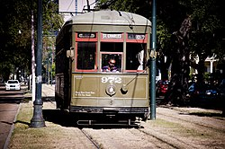 New Orleans RTA streetcar no. 972 in the St. Charles Avenue median -a.jpg