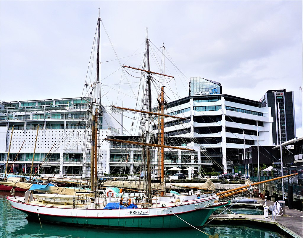 New Zealand Maritime Museum - Breeze Brigantine