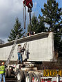 Newberg-Dundee bridge beam ready to transfer (12331052985).jpg