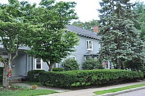 National Register of Historic Places listings in Newton, Massachusetts - Image: Newton MA Seth Adams House