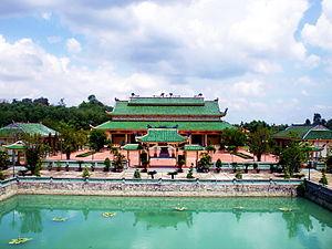Б'єнхоа: Nhà thờ chính Văn miếu Trấn Biên