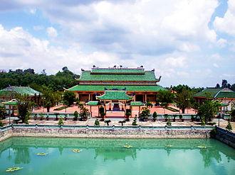 Biên Hòa - Trấn Biên Temple of Literature, a Vietnamese Confucian temple.