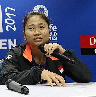 Ni Ketut Mahadewi Istirani Badminton player