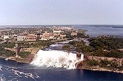 American Falls en Bridal Veil Falls