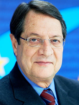 Euro summit - Image: Nicos Anastasiades at EPP HQ
