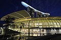 Night view of The Shoppes at Marina Bay Sands, Singapore - 20110222.jpg