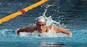 Nina Dittrich 200m-butterfly Schwechat2008