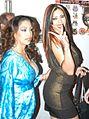 Nina Mercedez, Satine Phoenix at Evil Angel Party 2.jpg