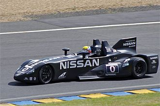 2012 24 Hours of Le Mans - The Nissan Deltawing racing at Le Mans in 2012