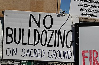 Recognition of Native American sacred sites in the United States