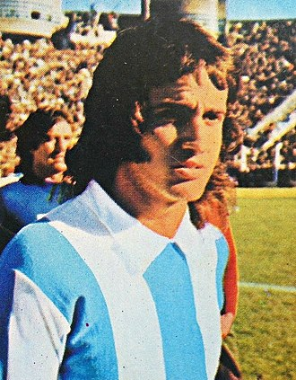 Norberto Alonso - Alonso with the Argentina national team, c. 1973