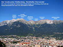 Klettersteig Innsbruck : Innsbrucker klettersteig u wikipedia