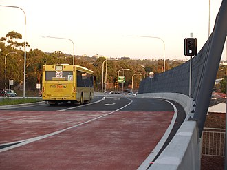 North-West T-way - T65 Hillsbus
