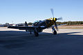 North American P-51D-30-NA Mustang Little Witch startup 03 Stallion51 19Jan2012 (14797196319).jpg