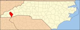 North Carolina Map Highlighting Jackson County.PNG