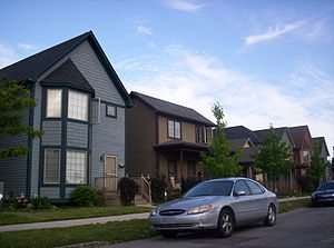 North Corktown, Detroit - Example of new housing found throughout the neighborhood.