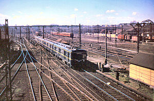 North Melbourne Station, 1959.jpg