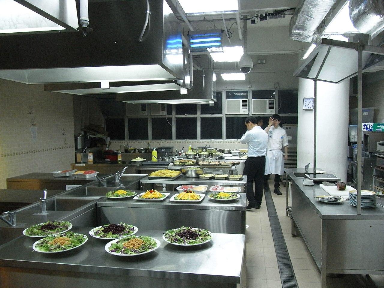 Restaurant Kitchen Work Table Sation