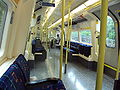 Northern Line tube train interior - DSC06049.JPG