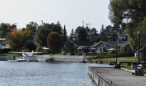 Notre-Dame-du-Nord, Quebec - Lake Timiskaming waterfront