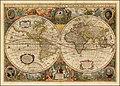 Nova Totius Terrarum Orbis Geographica Ac Hydrographica Tabula Auct. Henr- Hondio. . . . 1663.jpg