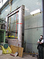 Nrcc wall furnace test sample frame 12 feet wide by 10 feet tall interior opening.jpg