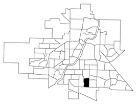 Nutana Park location map