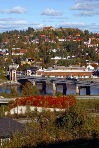 Kongsvinger - Kongsvinger in early-September 2009