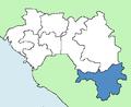 Nzérékoré Region Guinea locator.png