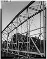 OBLIQUE SIDE VIEW OF TRUSSES - McGirt's Bridge, Spanning Cape Fear River, Elizabethtown, Bladen County, NC HAER NC,9-ELITO.V,1-5.tif