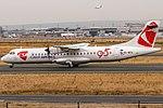 OK-NFU Czech Airlines (CSA) ATR 72-500 (72-212A) with 95 years anniversary sticker @ Frankfurt (EDDF FRA).jpg