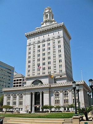 Oakland City Hall - Image: Oakland City Hall (Oakland, CA) 2