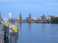 Oberbaumbrncke OIC evening from East Side.jpg